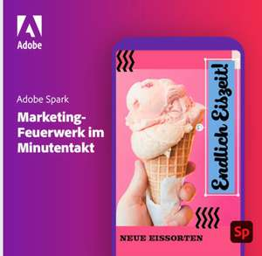 Adobe Spark 2 Monate kostenlos