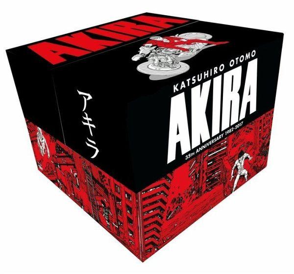 Akira Manga Komplettbox (Englisch) Reprint mit Newsletter Gutschein um 100 Euro