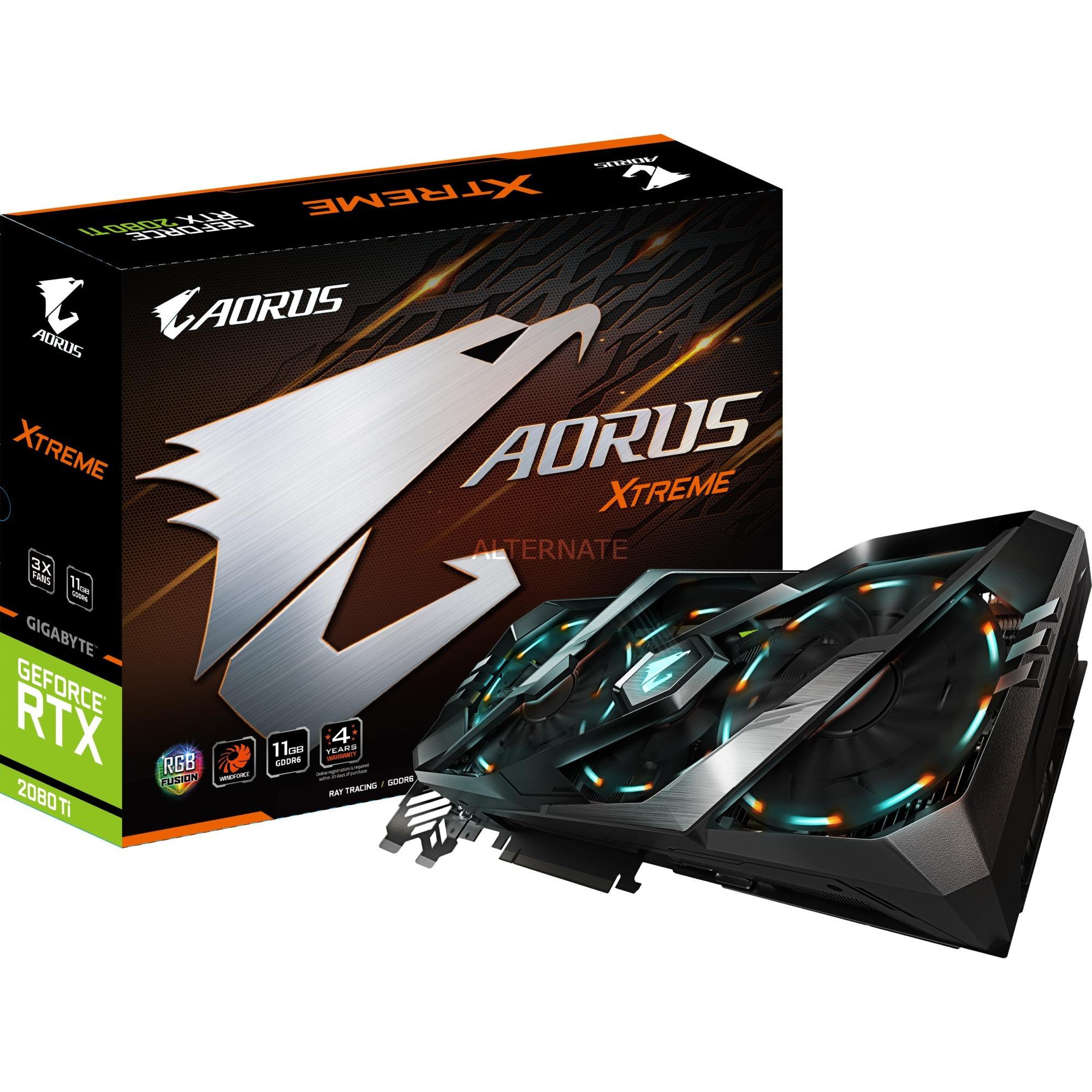 GIGABYTE GeForce RTX 2080 Ti AORUS XTREME 11G, Grafikkarte