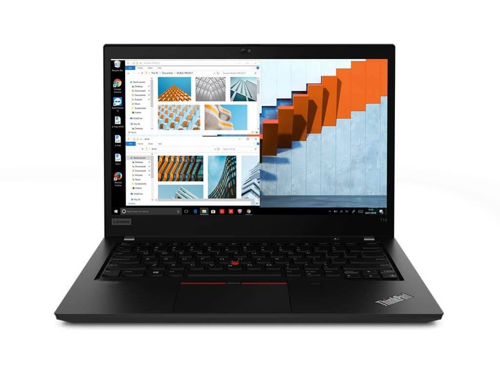 [Notebookkontor] Lenovo ThinkPad T14 G1, Ryzen 7 PRO 4750U, 16GB RAM, 512GB SSD, FPR, Smartcard, Backlit KB, IR-Kamera, 400cd/m², Win 10