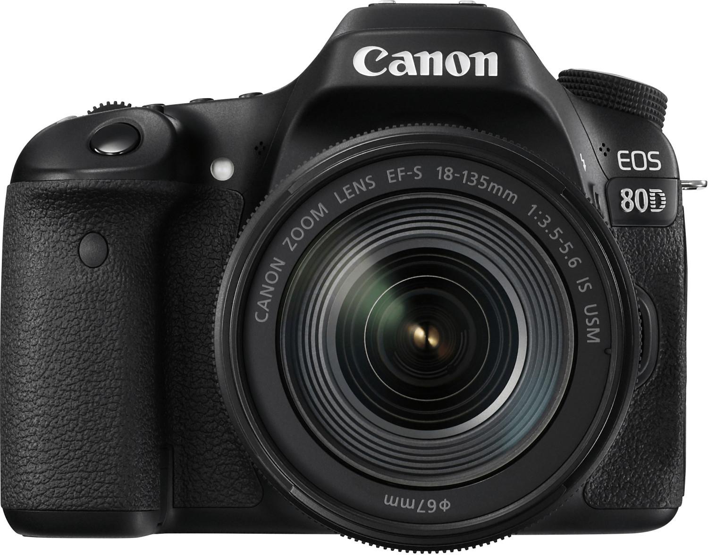 [Media Markt / Amazon] Canon EOS 80D Kit 18-135mm für 963,83€ | Canon PowerShot G7X Mark III für 573,91€