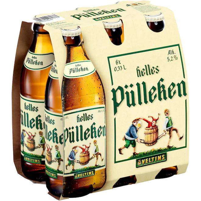 6x Veltins Helles Pülleken (0,33) bei Bringmeister [lokal Berlin/Potsdam]