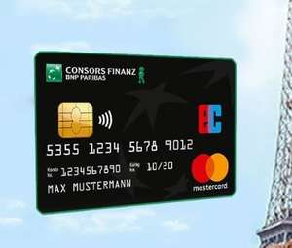 45€ Cashback von Shoop.de + 50€ Bonus Consors Finanz Mastercard dauerhaft 0€ Jahresgebühr (100% Lastschrift, Google + Apple Pay)
