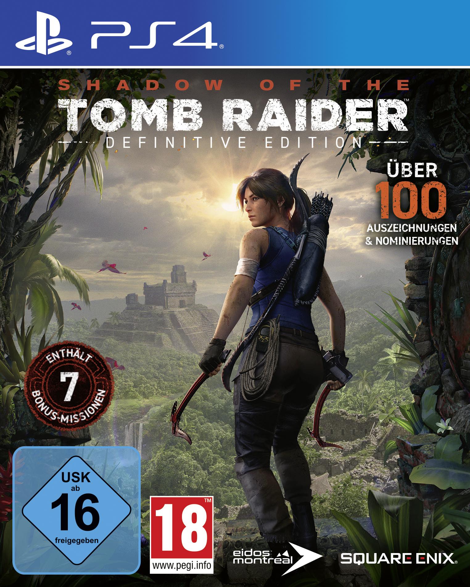 Shadow of the Tomb Raider Definitive Edition (PS4) für 16,50€ & (Xbox One) für 19,99€ (Square Enix Store & Coolshop)