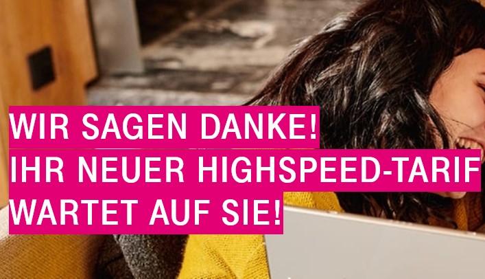 [Wieder verfügbar] Telekom Magenta Zuhause Kostenloses Upgrade auf XL 250 MBit/s (Vertragsverlängerung)