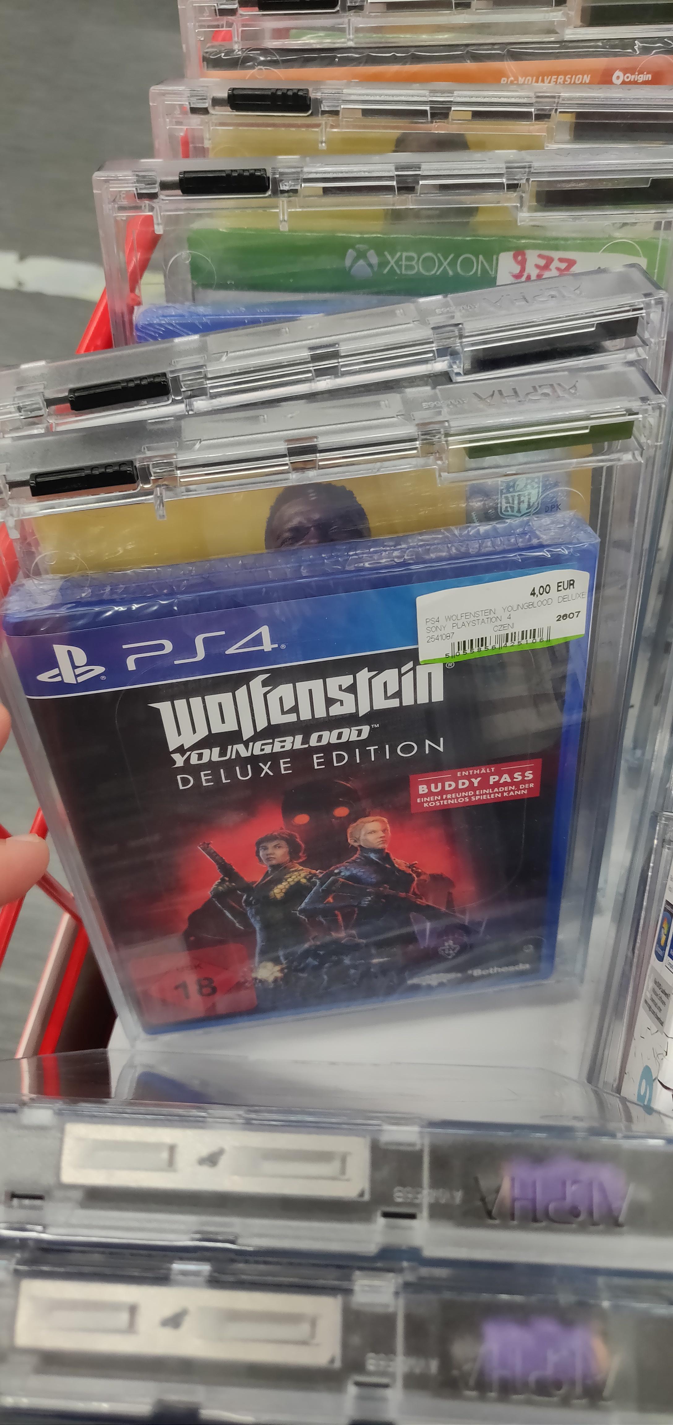 [Lokal Media Markt München Einstein] Div. Spiele PS4, Xbox, Switch, PC (Wolfenstein Youngblood, Demon X Machina)