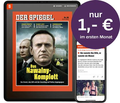 1 Monat SPIEGEL+ für 1 EUR (Kündigung notwendig)