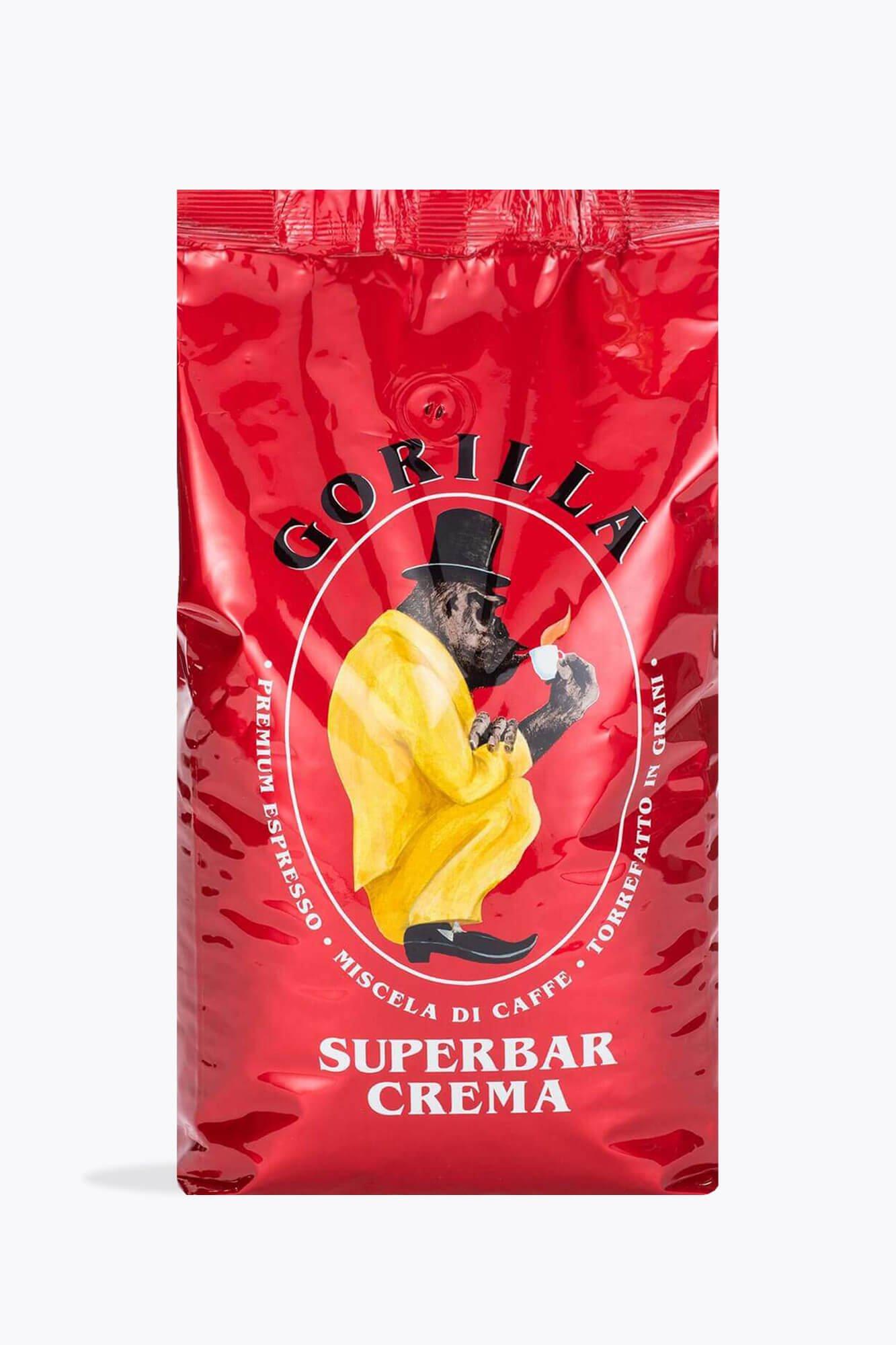 [ Roastmarktet ] Joerges Gorilla Super Bar Crema Bohnen z.B. 4 x 1kg für 46,03 da Bestellung ab 35€ VSK frei