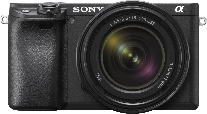Sony Alpha 6400 (ILCE-6400) + SEL 18-135mm OSS 2x 32GB SD-Karte gratis  Zusatzakku gratis