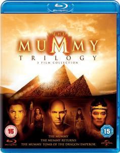Die Mumie Trilogie (Blu-ray) komplett auf deutsch