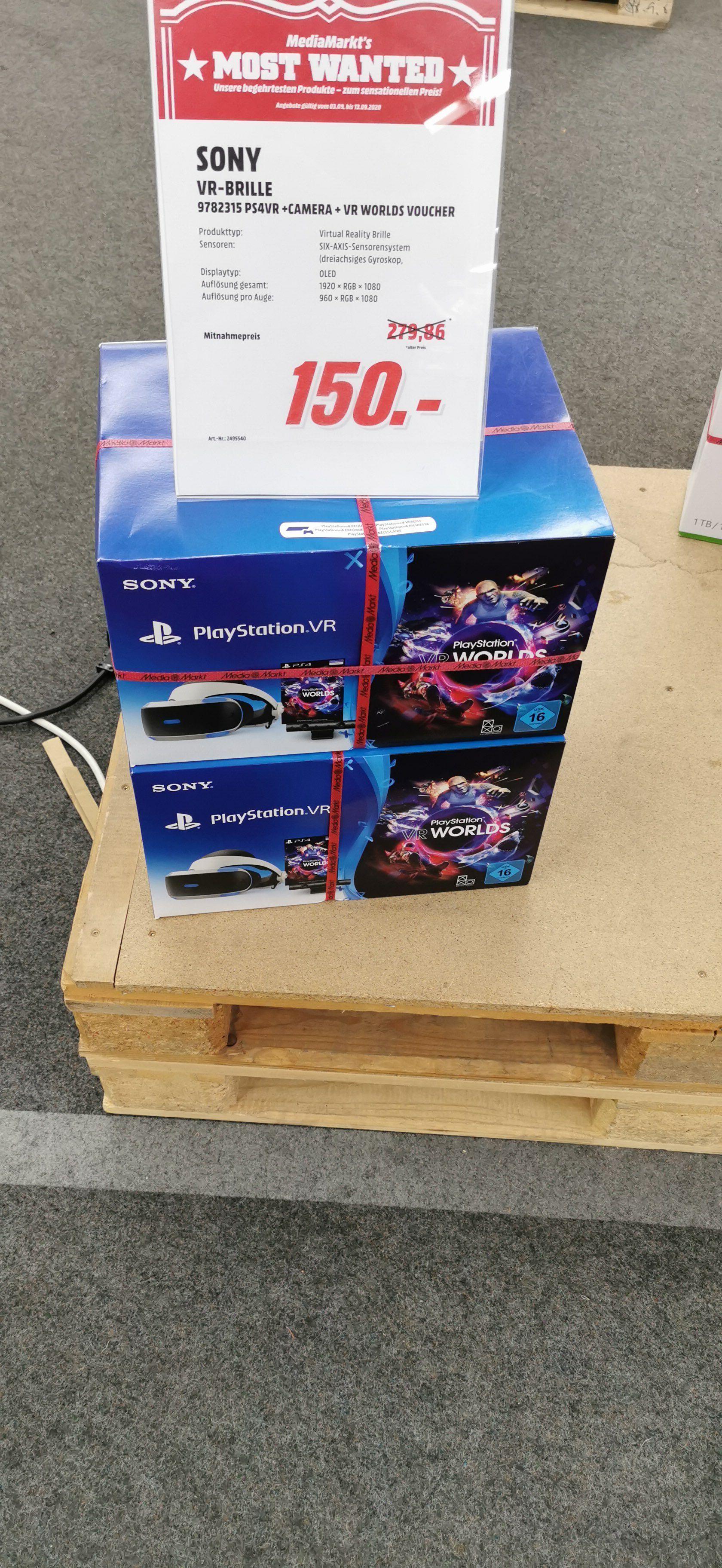 (Lokal Berlin) Sony Playstation VR Bundle mit Kamera und PlayStation VR Worlds