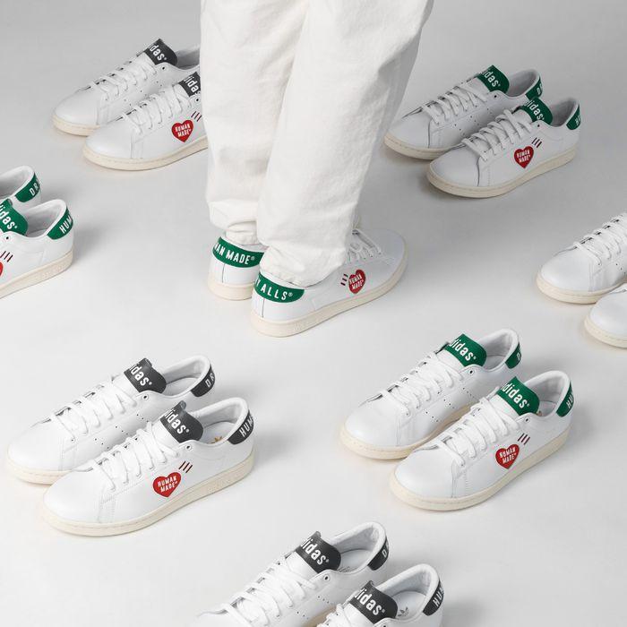 """[asphaltgold.de] ADIDAS X HUMAN MADE STAN SMITH - Sneaker """"Dealstag"""""""