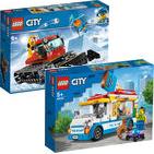 Lego-Deals bei Jako-O: Pistenraupe 60222 + Eiswagen 60253 für zusammen 20,47€ u.v.m.