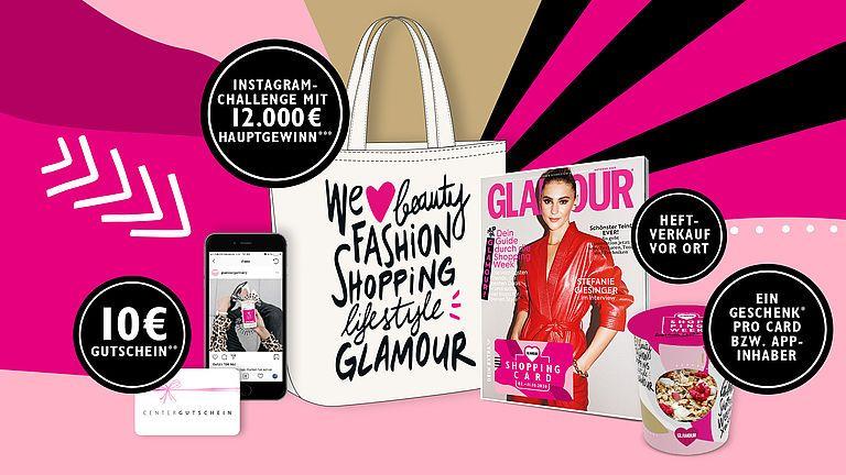 Glamour Shoppingweek mit Shopping-Center Special - 2.10. - 11.10. [inkl. Freischaltcode]