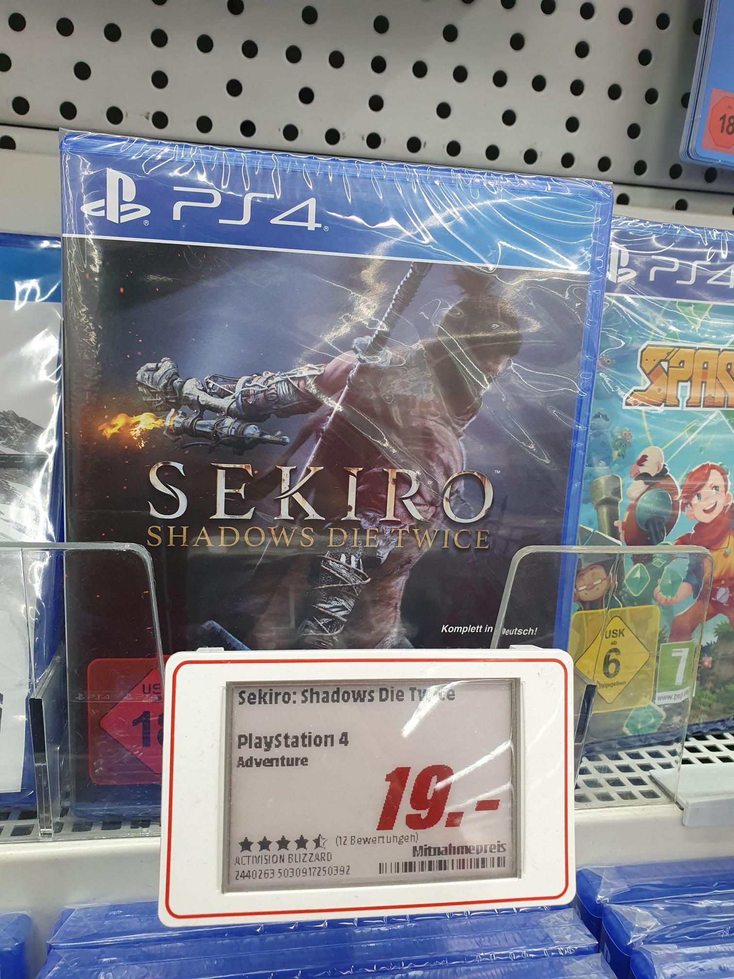 [Lokal MM Mainz] PS4 Sekiro Playstation