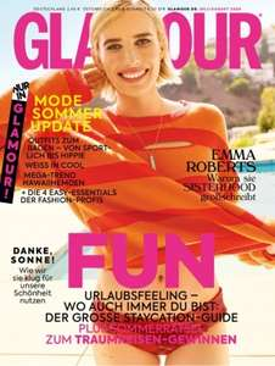 Glamour Abo (11 Ausgaben) für 26,90 € mit 30 € BestChoice-Gutschein bzw. 25 € BC-Gutschein inkl. Amazon