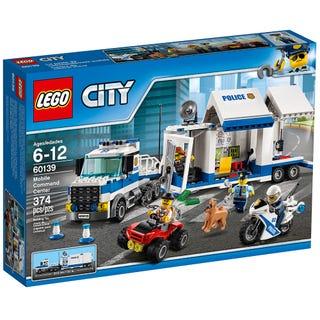 Wieder da: LEGO City - Mobile Einsatzzentrale (60139) und einige mehr