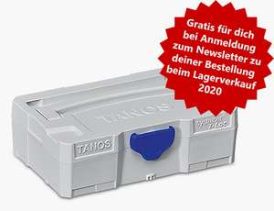 Online! Tanos ( Festool ) Systainer - Lagerverkauf, Gratis MicroSystainer