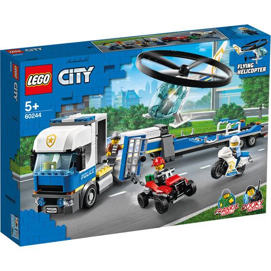 LEGO® City 60244 Polizeihubschrauber-Transport für 24,56€ [Jako-o]