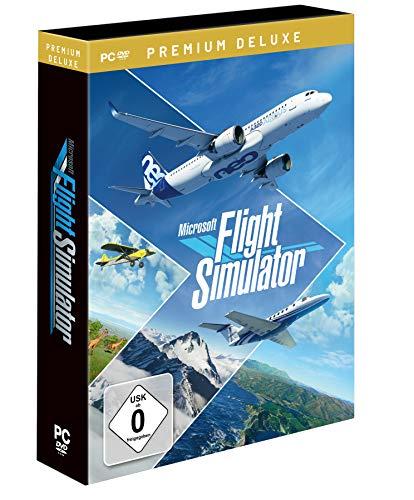 Microsoft Flight Simulator 2020 Premium Deluxe DVD