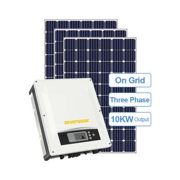Solaranlage 10 KW (Selbstimport aus China)
