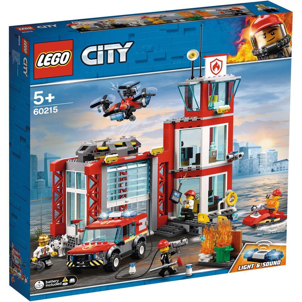 Lego City Feuerwehr Station 60215