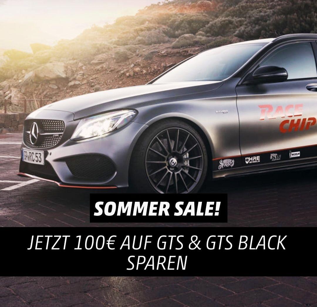 100€ Nachlass auf Racechip GTS und GTS Black