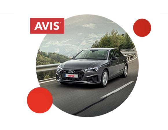 Avis Mietwagen mind 5 Tage buchen - 1500 BahnBonus Punkte bekommen bis 30.09 buchen bis 15.12 fahren.