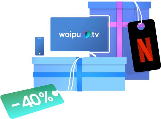 Waipu hat Geburstag: waipu.tv Perfect Paket für 5,99€ / Monat für 4 Monate