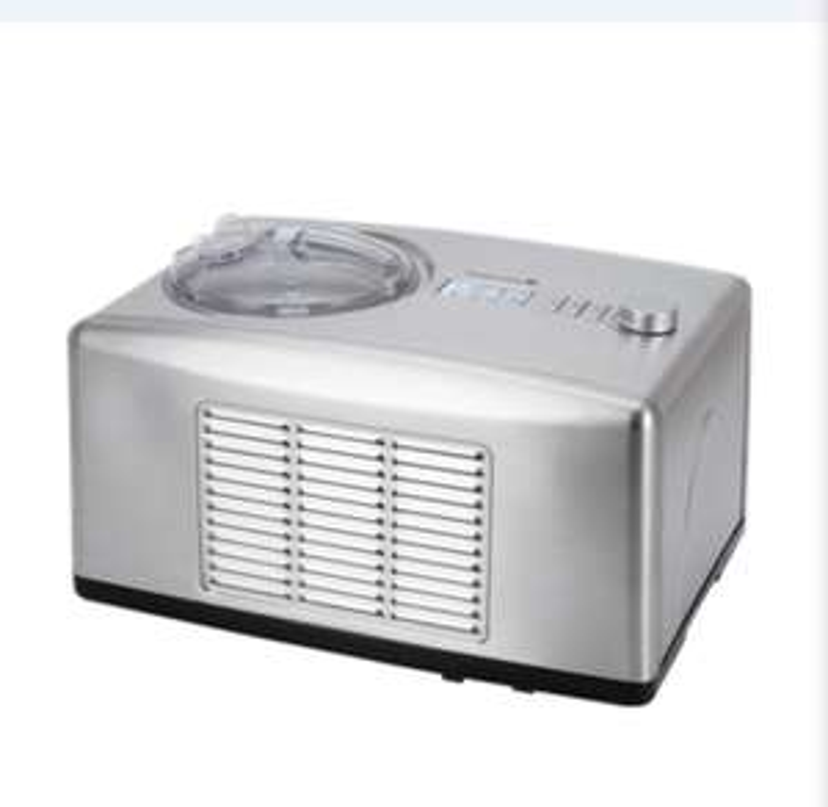 Tarrington House Eismaschine ICM1500, 150 W, mit Kompressor 1,5L, auch für Privatkunden