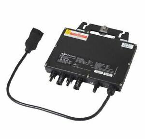 Wenn der Platz nicht reicht...Wechselrichter für Balkon PV Anlagen: Dual-MPPT, 600Watt (2x PV Module) ZigBee Kommunikation (WiFi), [ebay]