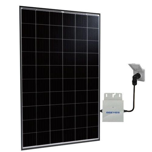 selfPV - Komplettpaket 320Wp Talesun und Microwechselrichter von Envertech mit integriertem Stringkabel