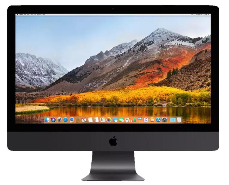 APPLE iMac Pro MQ2Y2D/A-160586 mit internationaler Tastatur, mit 27 Zoll Display, Xeon 256 GB RAM, 4 TB SSD, Radeon™ Pro Vega 64X