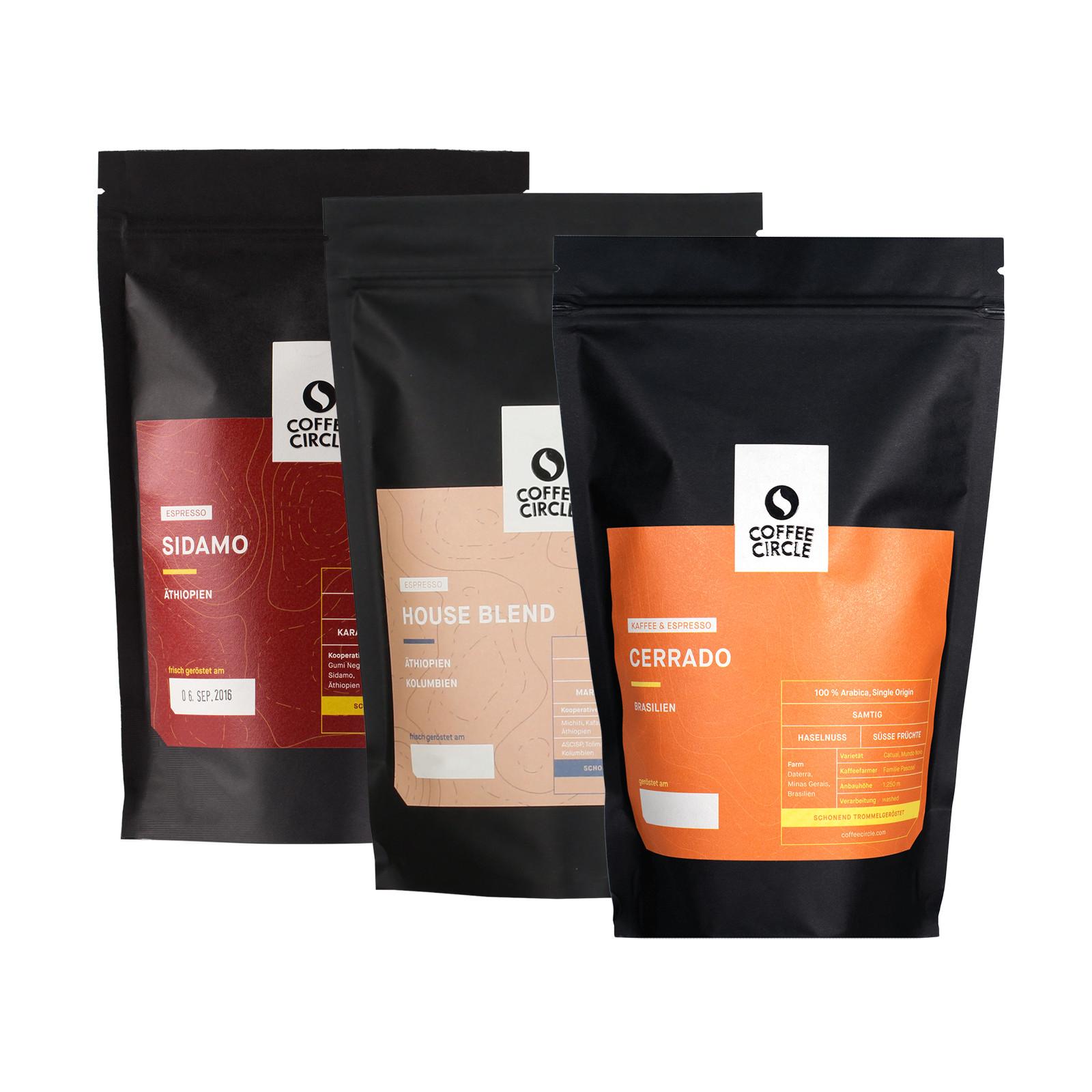 Espresso Dreierpack bei Coffee Circle im Angebot