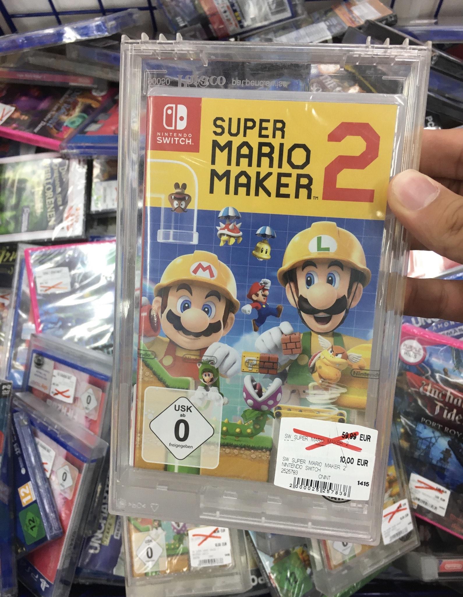 (LOKAL Saturn Gießen) Super Mario Maker 2 - Nintendo Switch
