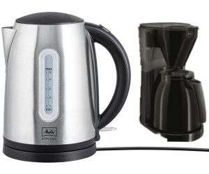 Melitta Easy Therm Filterkaffeemaschine oder Melitta Prime Aqua 1,7 L Wasserkocher, Kaufland