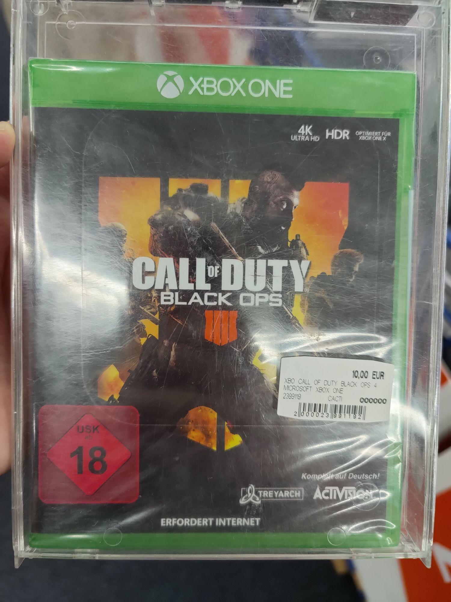 Lokal - Saturn Nürnberg - Call of Duty - Black OPS 4 - XBOX / PS4