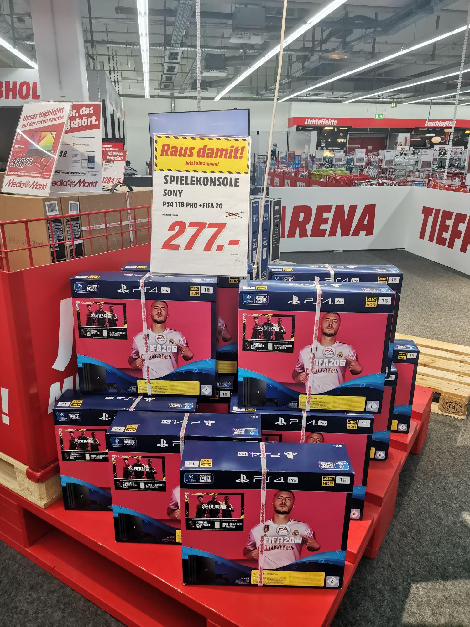 LOKAL Media Markt Weiterstadt PS4 Pro mit Fifa 20