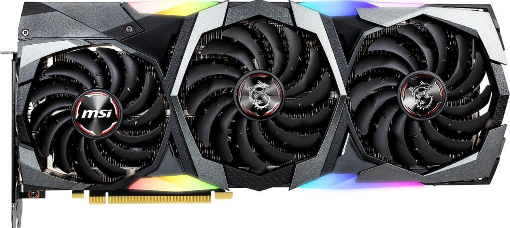 Lokal Schweiz - MSI GeForce RTX 2080 Ti GAMING Z TRIO