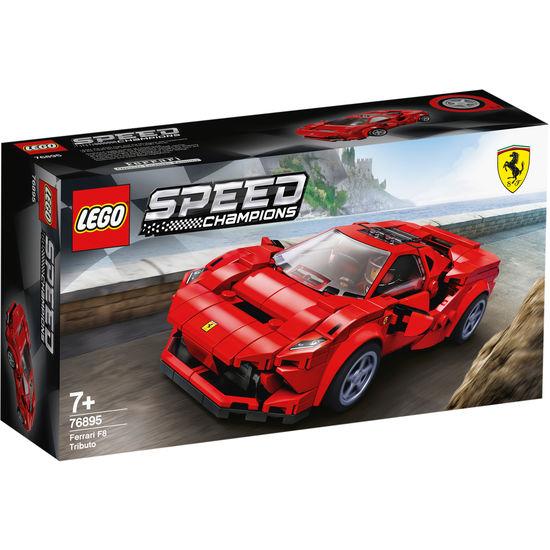 LEGO Speed Champions Audi Quattro 76897 und Ferrari F8 76895 zusammen