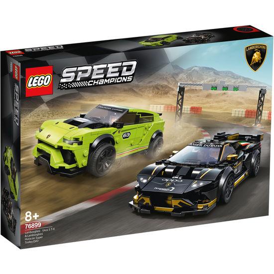 [JAKO-O] LEGO 76899 Speed Champions Lamborghini Urus ST-X & Lamborghini Huracán Super Trofeo EVO