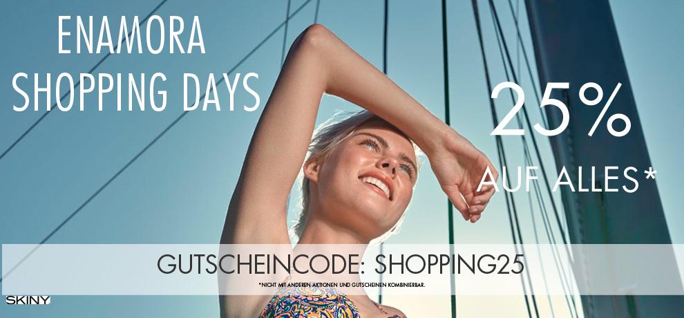 25% auf ALLES bei Enamora (Sale inkl) + gratis Versand oder 6 Teile für 39,90€