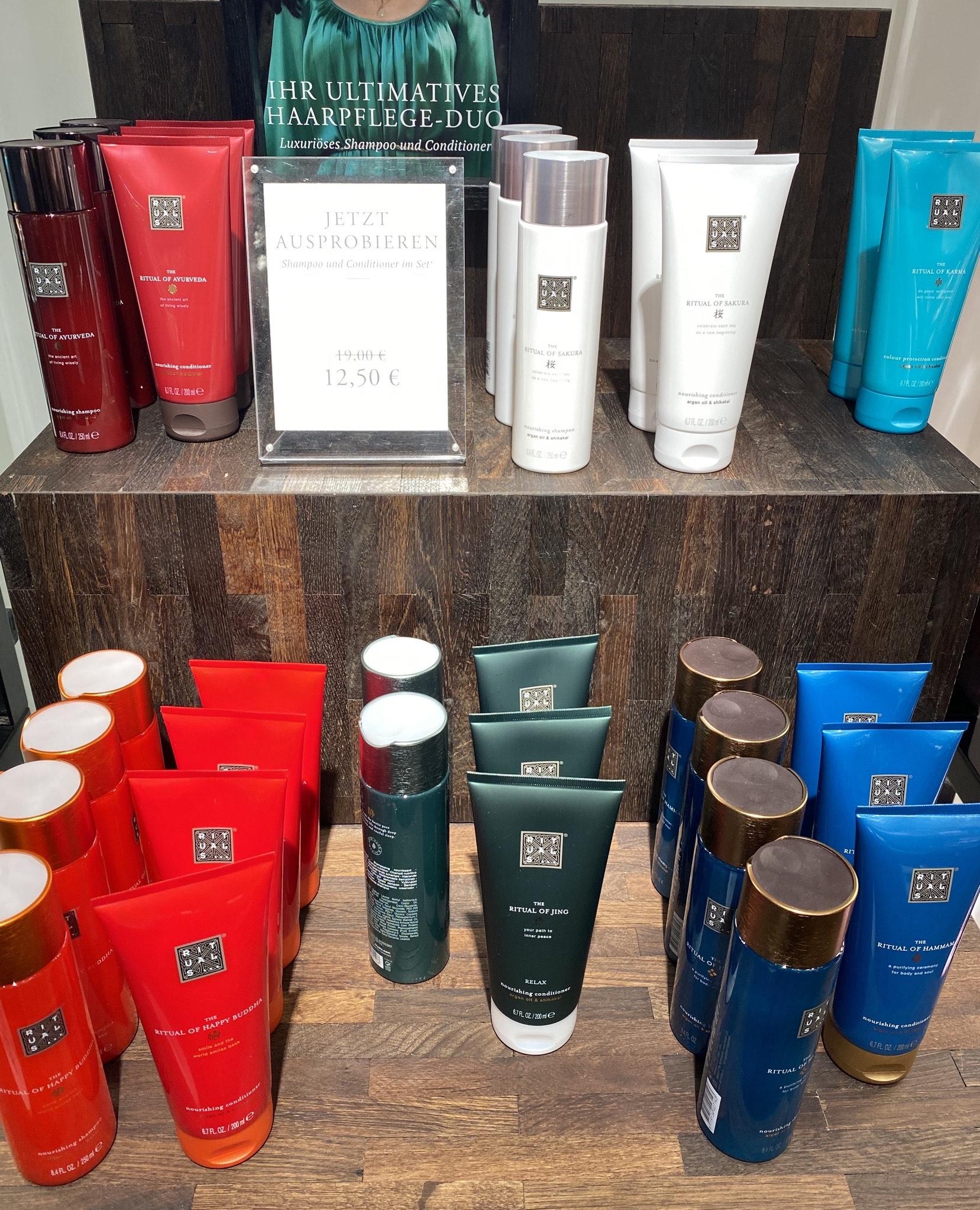 OFFLINE [auch online + VSK] Rituals Probierpreis Shampoo + Conditioner Set