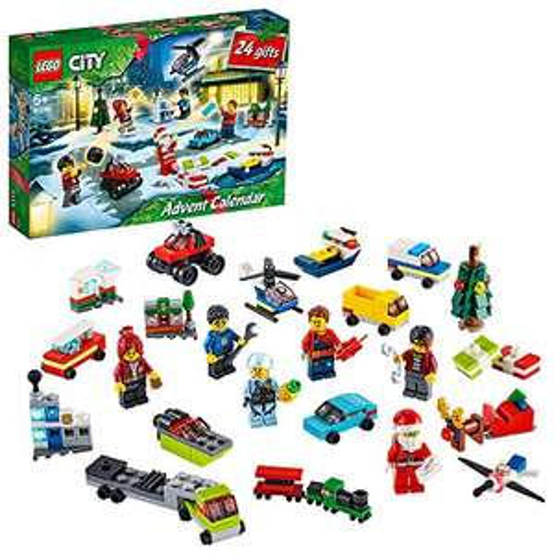 LEGO 60268 City Adventskalender 2020 Weihnachten [Amazon Prime]