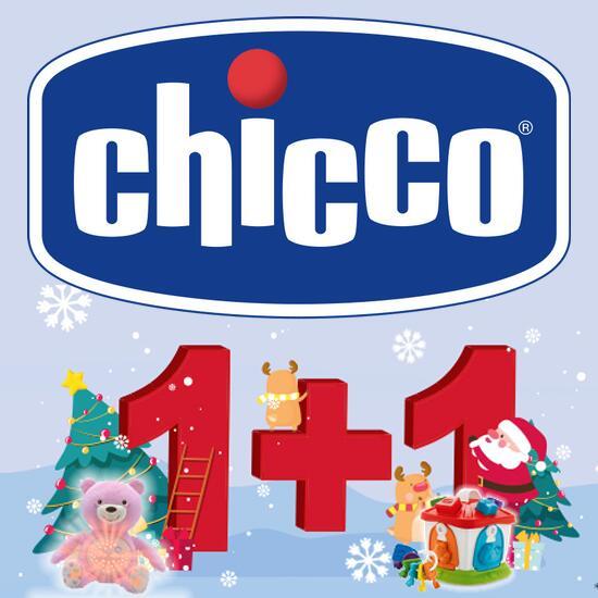 Chicco 1+1 Cashback Aktion: 2 Spielzeuge kaufen und 100% Cashback für das günstigere erhalten - auch online z.B. bei Amazon