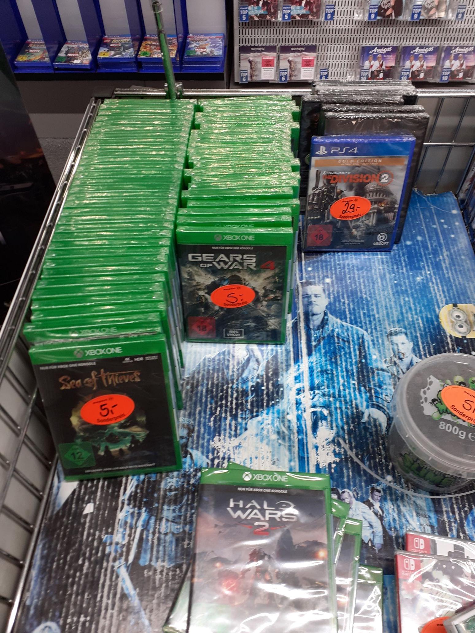 [Lokal Petersberg] expert klein: Sea of Thieves, Gears of War 4, Halo Wars 2 für XBOX One