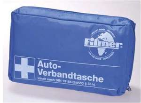 Filmer KFZ-Verbandtasche nach DIN 13164 für 3,99 Euro und Filmer KFZ-Verbandkasten für 4,99 Euro [Zimmermann - regional]