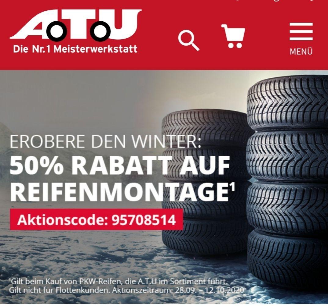 Winterkompletträder/Winterreifen günstig über ATU