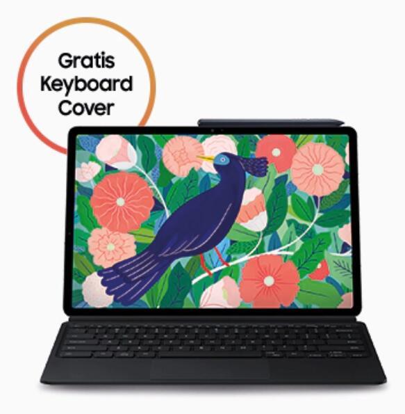 Samsung Galaxy Tab S7+ 5G 256GB + Keyboard Cover im O2 Free L Boost mtl. 49,99€ | Young M1 Telekom Mobil M (nach Ankauf 4,39€ mtl.)