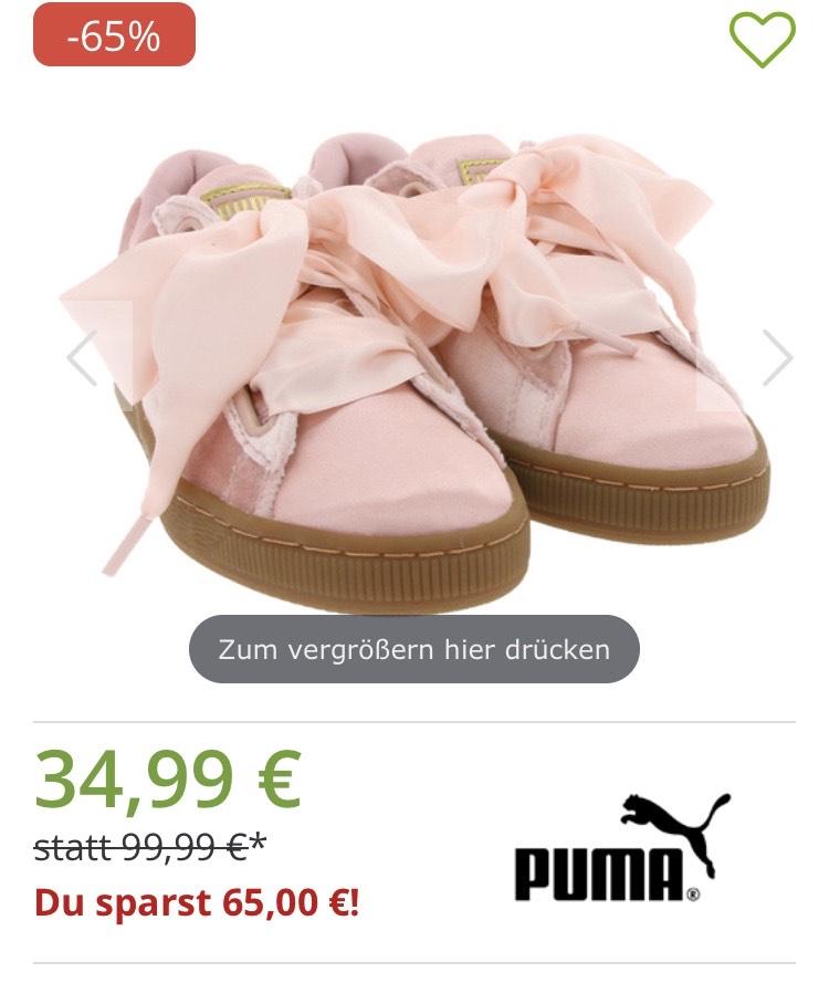 Puma Sneaker Basket Heart bei Outlet46